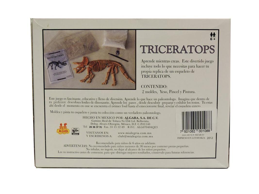 Mundo De Los Dinosaurios: Triceraptor Mi Alegria