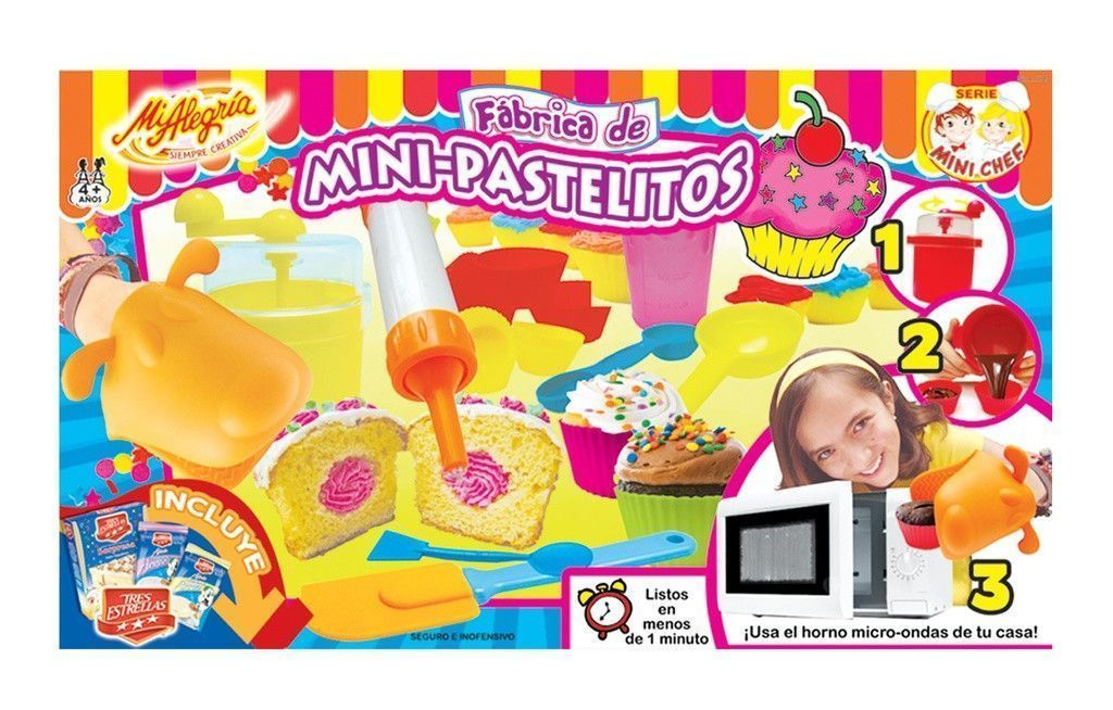 FABRICA DE MINI PASTELITOS
