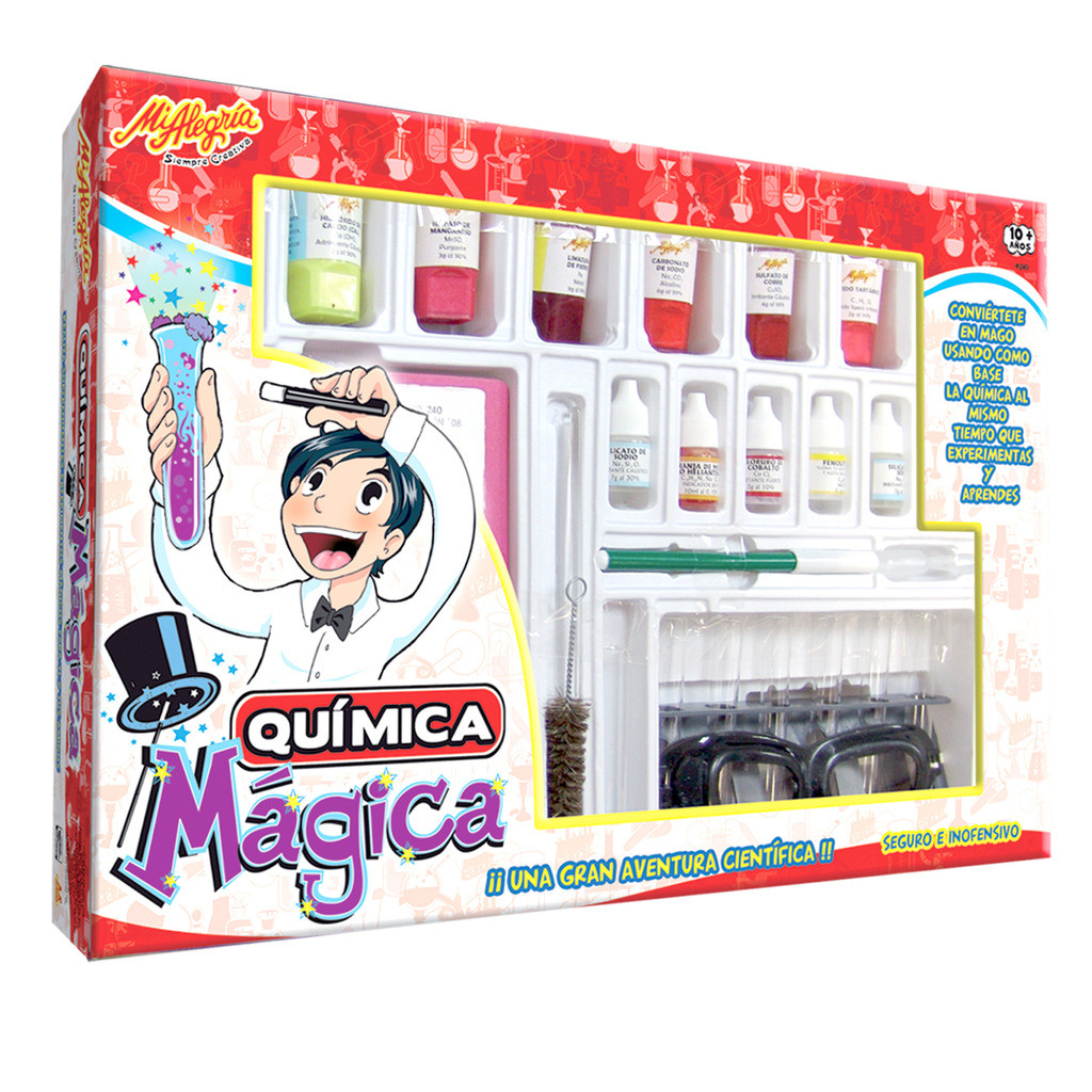 QUIMICA MAGICA 40 EXPERIMENTOS