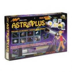 ASTROPLUS CON TELESCOPIO 20X 30X 40X MM