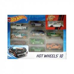 Hot Wheels - 10 Pack