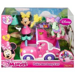 FISHER PRICE MINNIE CARRUAJE DE PONI