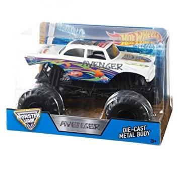Jam 1 24 Vehicle AsstJuguetron Hot Monster Wheels IEHD92