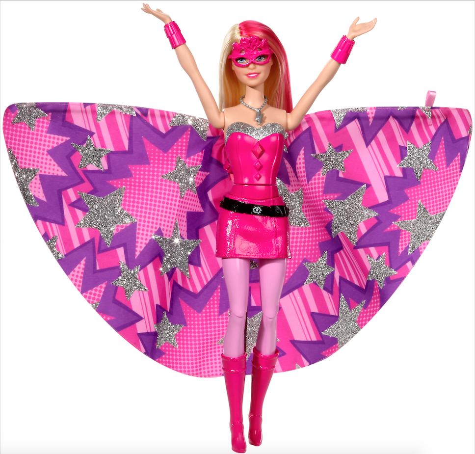 Barbie Super Princesa Superheroe Juguetron