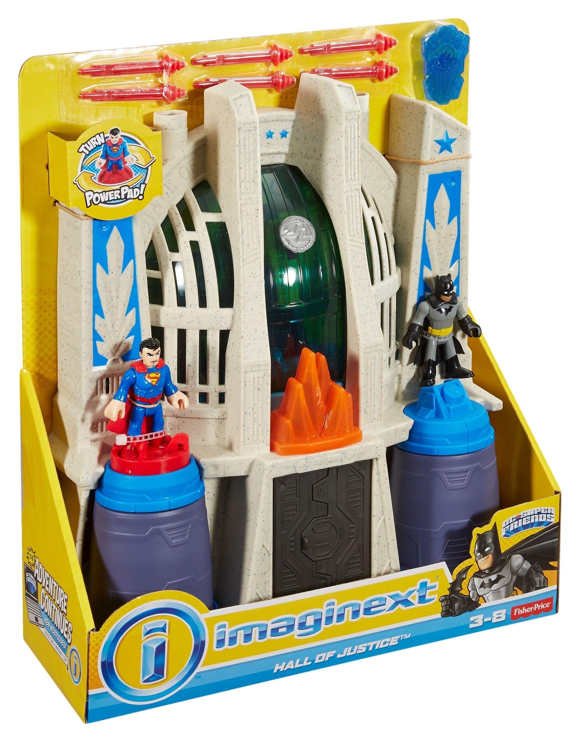 FISHER PRICE IMAGINEXT DC SUPER FRIENDS SALA DE JUSTICIA