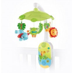 FISHER PRICE MOVIL PROYECTOR 2 EN 1 SMART CONNECT AMIGOS DE LA NATURA