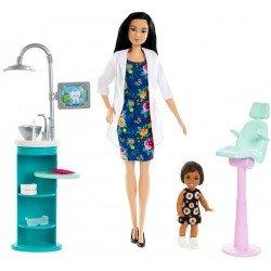 Barbie Careers Dentista Con bebé
