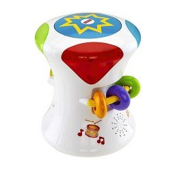 FISHER PRICE TAMBOR MUSICAL 2 EN 1