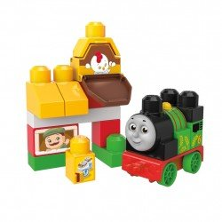 MEGA BLOKS SET THOMAS & FRIENDS  PERCY  EN LA GRANJA
