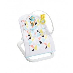 FISHER PRICE SILLA MECEDORA PORTATIL