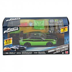 FAST ANDFURIOUS AUTOS CON KIT PERSONALIZABLE