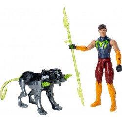Figuras de Acción Max Steel y Pantera Bionica