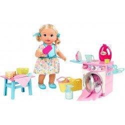 Mattel Little Mommy Hora de Comer y Jugar