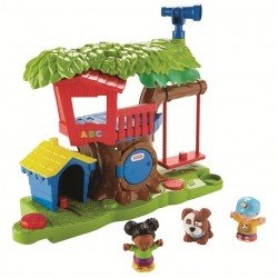 FISHER PRICE LITTLE PEOPLE SURTIDO DE PLAYSETS MEDIANOS CASA DEL ARBO