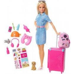 Barbie Viajera Explora y Descubre