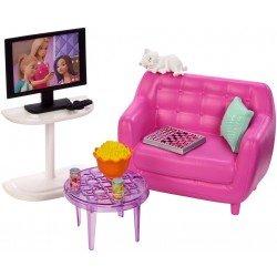 Barbie Estate Muebles Cuarto De Tv
