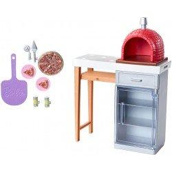 Barbie Estate Muebles Horno De Pizzas