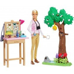 Barbie Careers Nat Geo Cuidadora De Mariposas