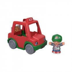 Fisher-Price Coche Repartidor de Pizza