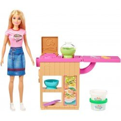 Barbie Careers Muñeca Chef Fideos