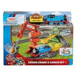 Thomas & Friends Pista trenes con grúa Cassia