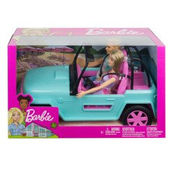 Barbie Estate Ken y Barbie Vehiculo