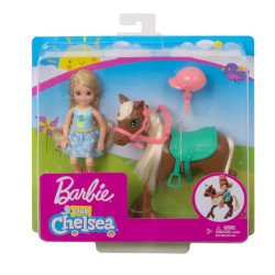 Barbie Familia Chelsea con Pony