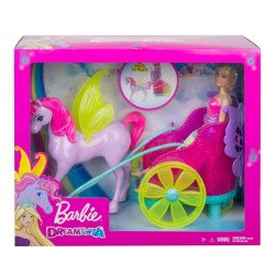 Barbie Dreamtopia Princesa y carruaje