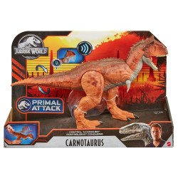 Jurassic World Carnotauro Control de Ataque