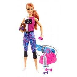 Barbie Fashionista Muñeca Día de Spa Yoga