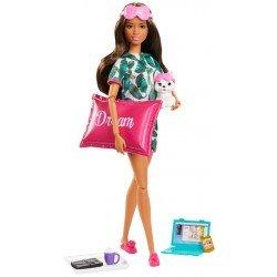 Barbie Fashionista Muñeca Día de Spa Relajación