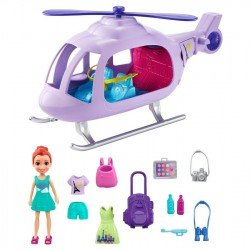 Polly Pocket Core Helicóptero de Aventuras