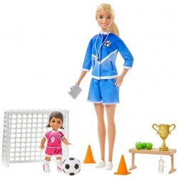 Barbie Careers Maestra de Fútbol