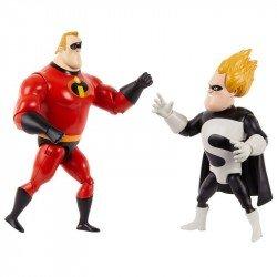 Disney Pixar Los Increíbles Paquete de 2 figuras