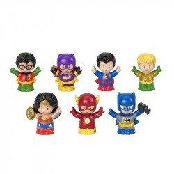Little People DCSF Paquete de Figuras DC