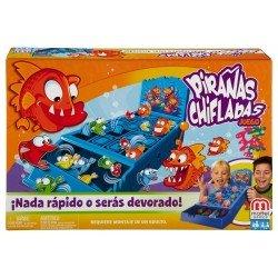 Mattel Games Pirañas Chifladas Juego de Mesa