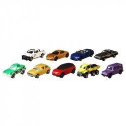 Matchbox Surtido de 9 autos basicos