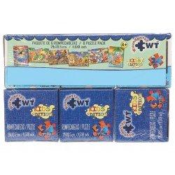 Paquete de 6 Rompecabezas: Kids Edition Wuundentoy