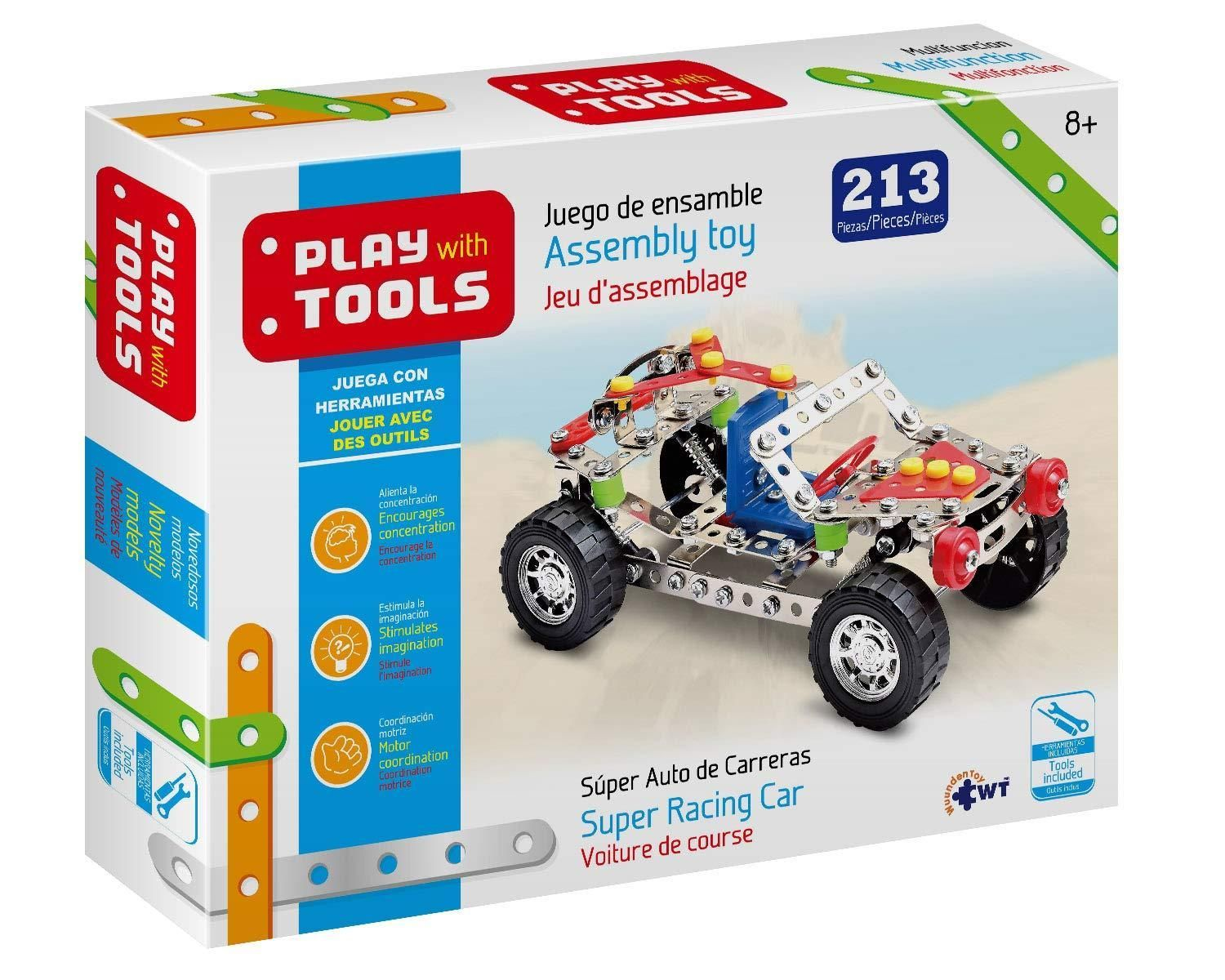 Play With Tools Grande Super Super Auto De Carreras