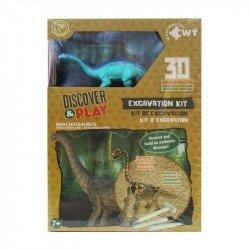 Juego de Excavación Mediano Wuundentoy Braquiosaurio