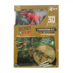 Juego de Excavación Mediano Wuundentoy T-Rex