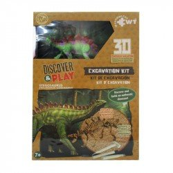 Juego de Excavación Mediano Wuundentoy Stegosaurio