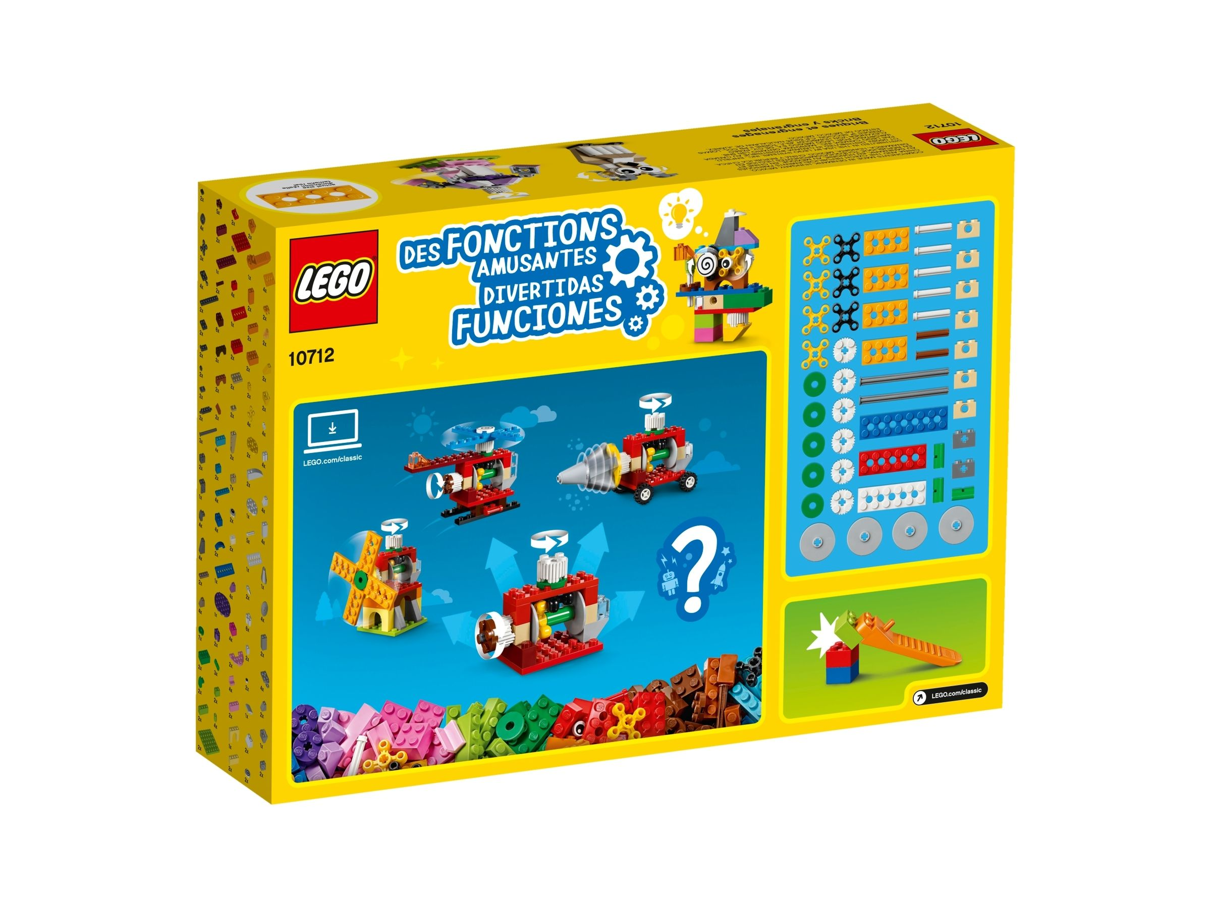 LEGO® Classic 10712 Ladrillos y engranajes