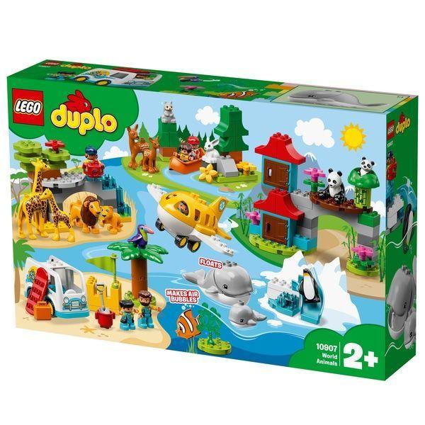 Lego 10907 Animales del Mundo