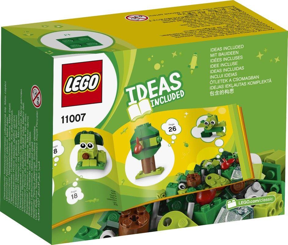 Lego 11007 Bricks Creativos Verdes