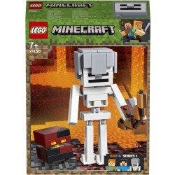 Lego 21150 BigFig Minecraft?: Esqueleto con Cubo de Magma