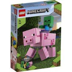 LEGO 21157 Minecraft BigFig: Cerdo con Bebé Zombi 21157