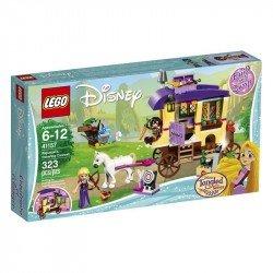 Caravana de viaje de Rapunzel