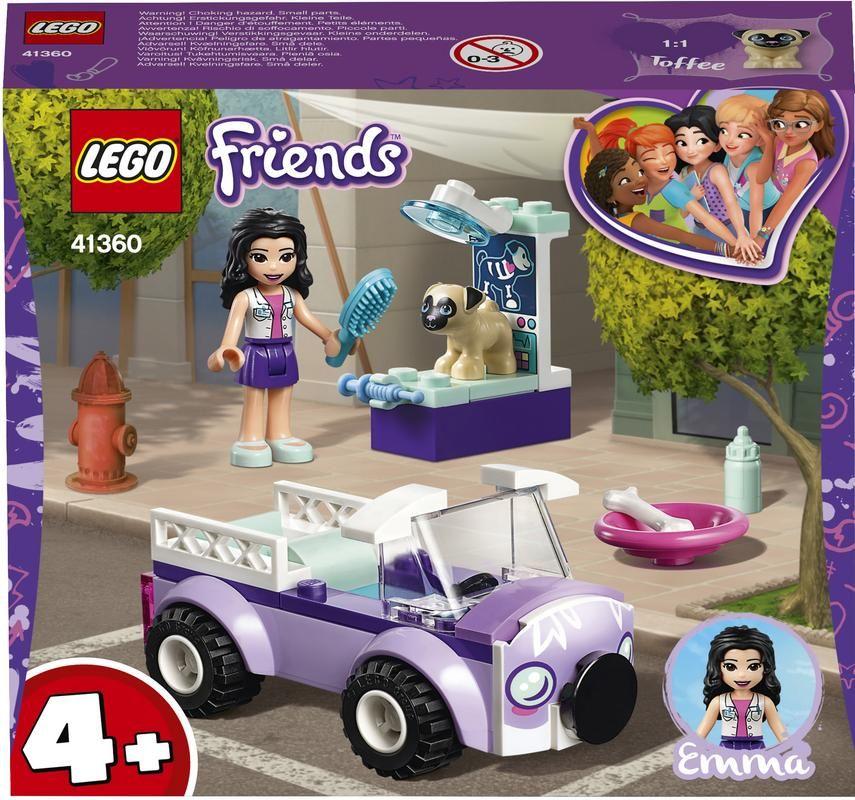 Lego 41360 Clínica Veterinaria Móvil de Emma