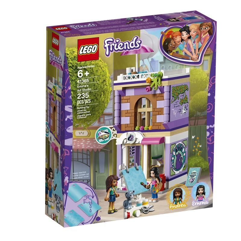 Lego  41365 Estudio Artístico de Emma